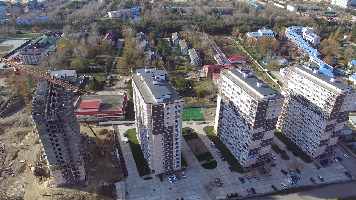 Фото ЖК Кавказ, ход строительства
