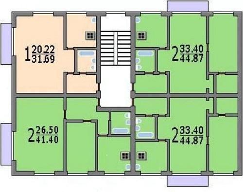 Планировки по этажам